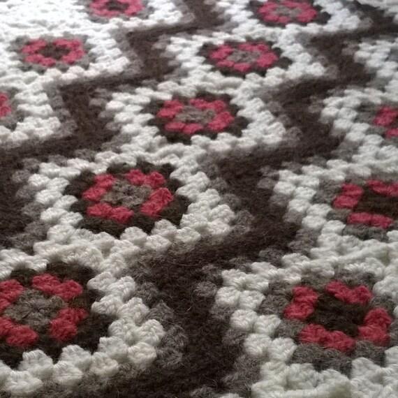 Giant Granny Square Blanket Crochet Pattern Choice Image Knitting