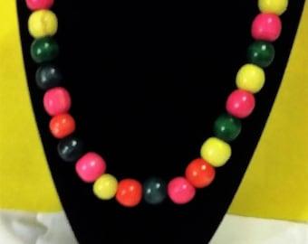 Bubble Gum Colorful Necklace