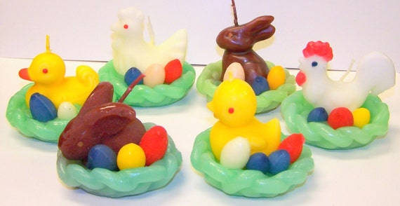 Easternest Candles from Germany set of 12