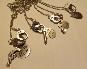 Partners in Crime - Friendship Necklaces or Bracelets