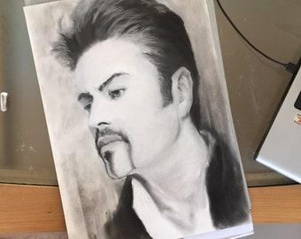 Original artwork of George Michael