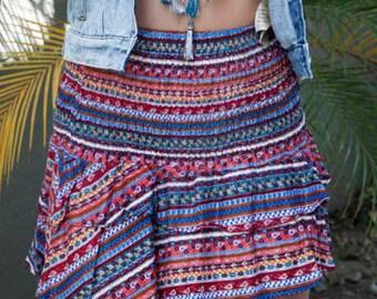 Karma Ruffle Skirt