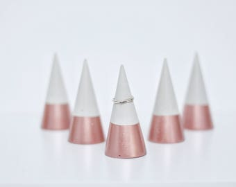 ROSE GOLD Ring Cone