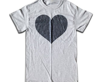 Black Heart T Shirt - Graphic Tees for Men, Women & Children -  Short Sleeve and Long Sleeve Available!