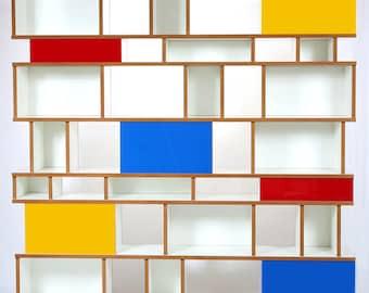 Purista Design Regal move Blue red Yellow