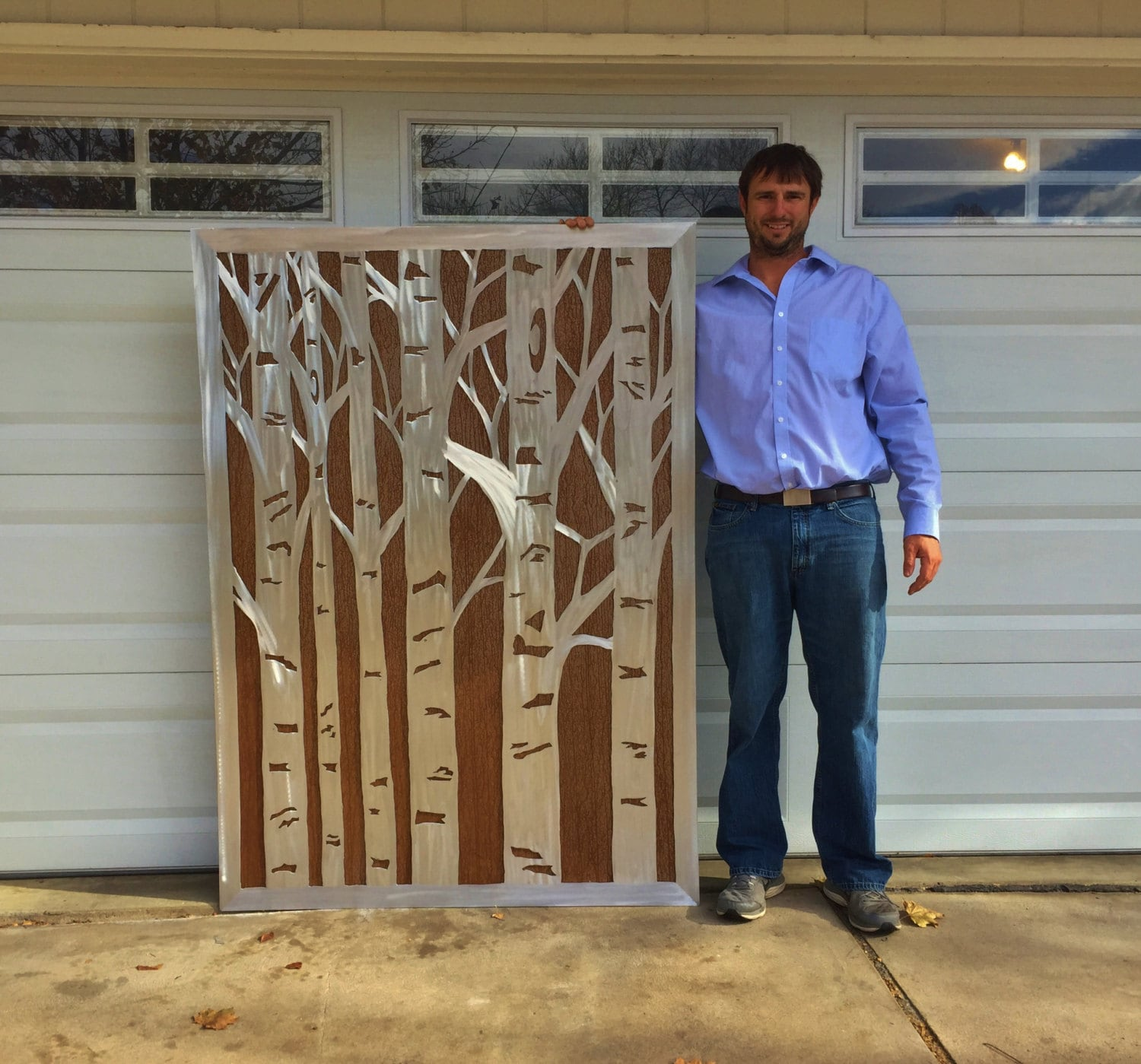 Large Metal Wall Art. Aspen Trees. Rustic Home Decor. Nature Inspired. Front Porch Decor. Modern Farmhouse. Nature Lovers Gift. Wall Hanging : large metal wall art - www.pureclipart.com
