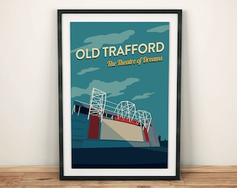Old Trafford - Manchester United Stadium Print