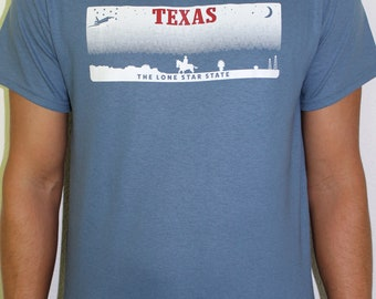 """Texas """"The Lone Star State"""" Blue"""