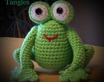 Frog * Amigurumi * Stuffed Animal * Made to Order