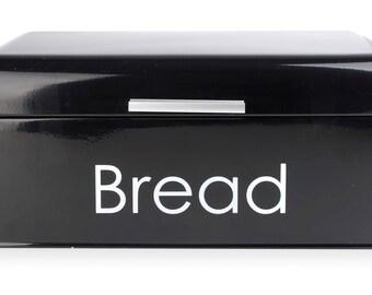 Bread box black Bread