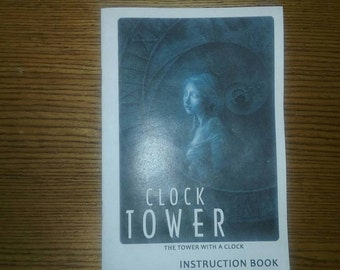 Clock Tower manual English translation.