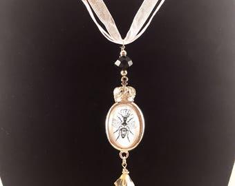 Queen Bee in Paris Necklace