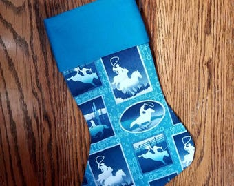 Rodeo Blue Stocking