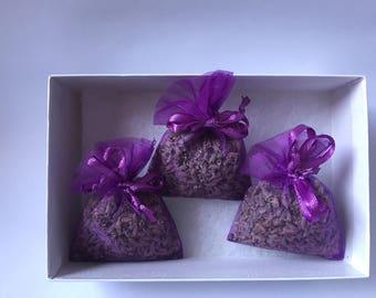 Lavender Sachets in gift box
