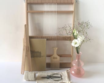 Weaving loom kit Large / Starter's kit / Weaving Loom / Weefraam / Kit de Tissage debutant