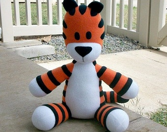 Large Huggable Tiger - Made to Order