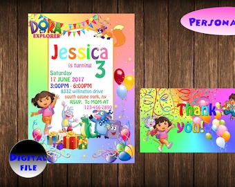 Dora invitations etsy dora the explorer invitation dora the explorar printable invite dora birthday party card dora the explorer chalkboard custom invitation filmwisefo