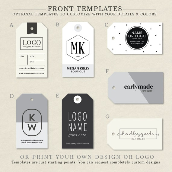 Custom Clothing Labels Clothing Tags Hang Tag Custom