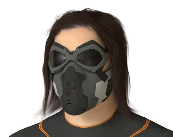 Winter Soldier Mask for 3D-printing
