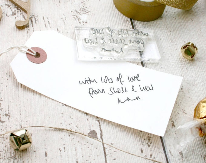 Message Rubber Stamp