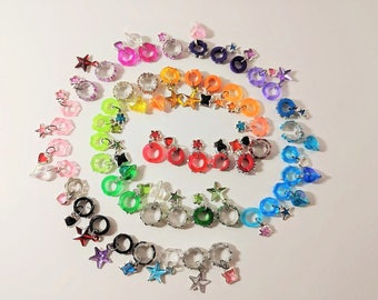 Littlest Pet Shop Custom Collars Variety Pack W/Charms - LPS Accessories   (6 pieces)