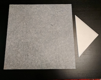 "18""/45cm Large Origami Paper: Thin Strong Mulberry/Unryu 15gsm w/ Methylcellulose for Advanced Origami"