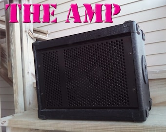 THE AMP  3-Speaker PORTABLE Guitar Amplifier- wall power or batteries!