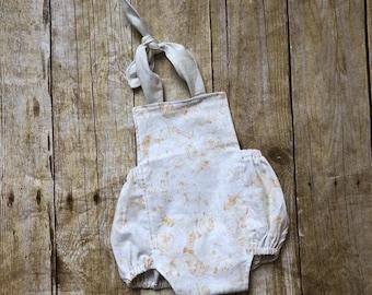 Baby Girl Romper - Girls 1st Birthday Outfit - Baby Girl Summer Romper - Girl Cake Smash Outfit - Baby Rompers for Girls