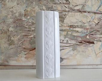 Rosenthal Studio Line vase, Bjorn Wiinblad vase, Scandinavian Modern, White porcelain vase, Bjorn Wiinblad Studio Line, Mother's Day gift