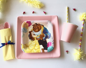 Beauty and the Beast Party, Beauty and the Beast Theme
