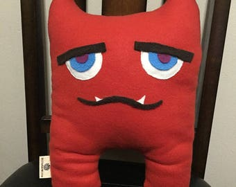 Monster Pillow: Red