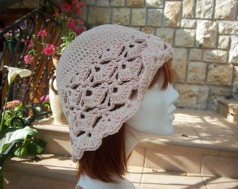 (Salmon) #Collection crochet hat was