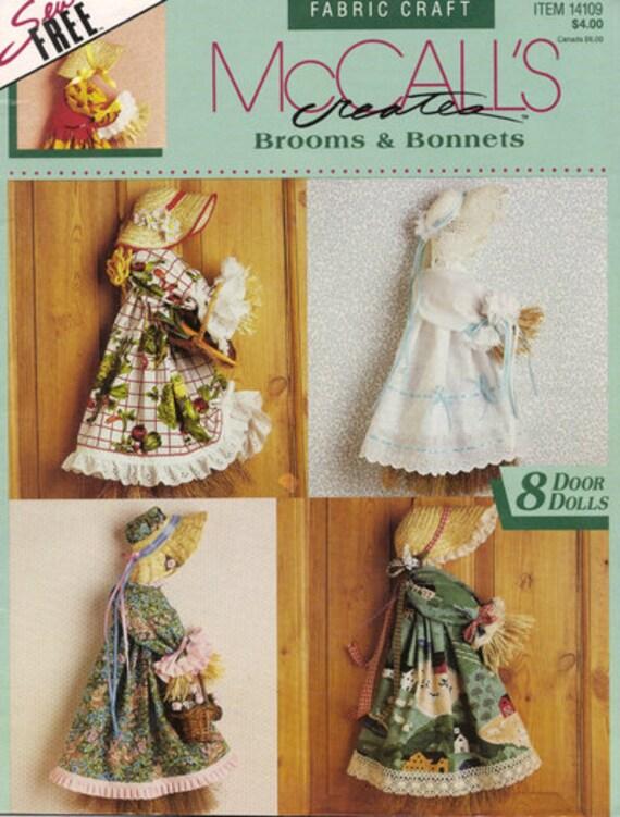 McCall\'s Besen & Mützen Nähen kostenlose saisonale Besen Puppen ...