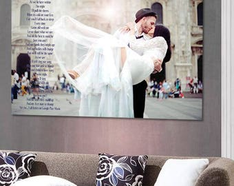 Wedding Metal Print, HDR photo,  photo print, Wedding HD on Aluminum Panel, Wedding Gift, Wedding Photography, Metal Print