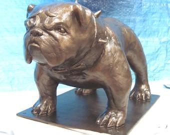 Bruiser ... English Bulldog Mascot