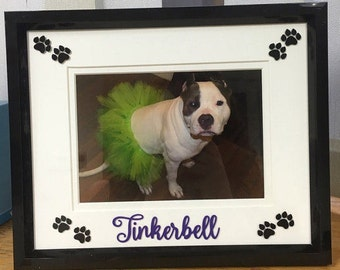 Dog Frame - Personalized with pet name