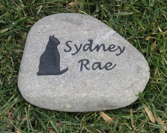 Garden Stone Memorial Large personalized pet memorial garden stone engraved dog cat cat memorials cat memorial stones memorial gifts personalized cat memorial stone grave workwithnaturefo