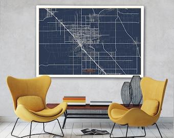 Modesto map Etsy