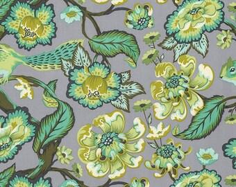 Chipper - Half Yard - Tula Pink Fabric Chipmunk Mint Green Quilt Fabric Aqua Free Spirit Fabrics Quilt Fabric Sewing Fabric PWTP078MINTX