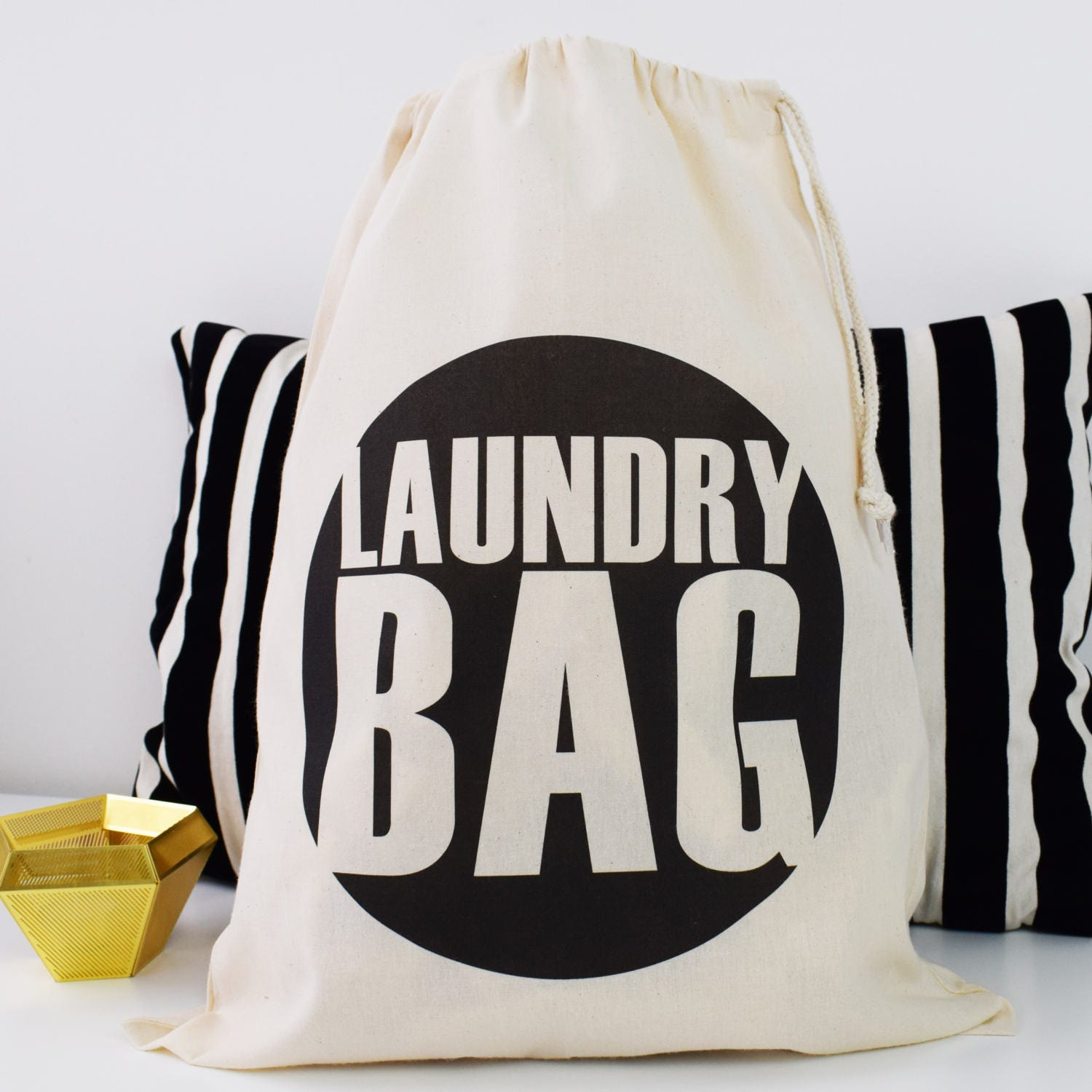 Home And Travel Laundry Bag Big Spot Laundry Bag Drawcord
