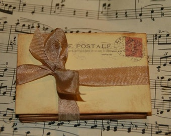 100 Vintage Post Card Wedding Place Card or Wedding Escort Cards