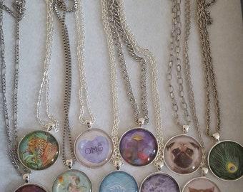 Beautiful pendants with FREE P&P
