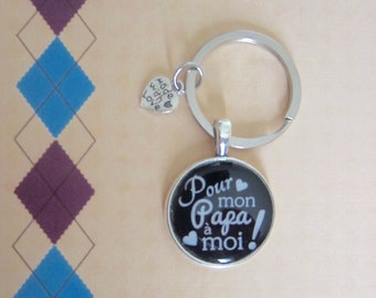 "Father's day - Gift for Dad: ""for me Daddy"" keychain"