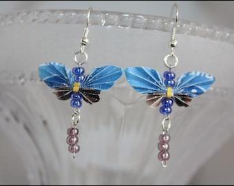 Butterfly earrings / butterfly earrings #362