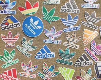 Decal(Adidas Logo-Choose Your Color!)-Laptop Decal/Laptop Sticker/Phone Decal/Phone Sticker/Car Sticker/Car Decal/Water Bottle Sticker