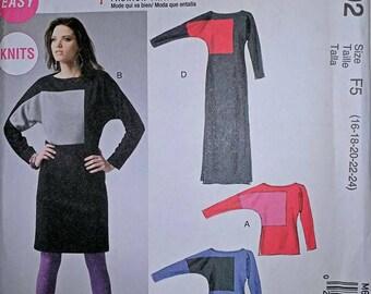 M6792,  Sewing Pattern, Dress Pattern, Top Pattern, Out of Print, Sizes 16-24, Palmer Pletsch