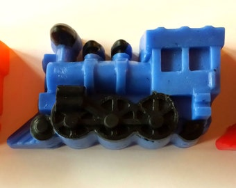 Soap - Train Soap - Trains - Train - Party Favors - Boy Birthday Party - Free U.S. Shipping - Custom Colors and Scents