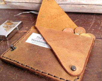 Leather Wallet  *  Slim Card Holder Leather *Handmade Leather Wallet*Men Women Leather Slim Wallet*Leather Product*Gift For Him*Gift For Her