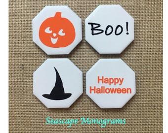 Halloween Magnets (Set of 4) - Fridge Magnets