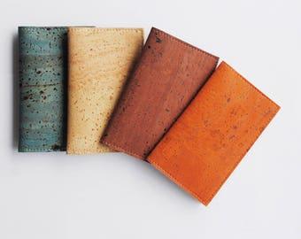 Vegan Cork Leather Slim Cardholder